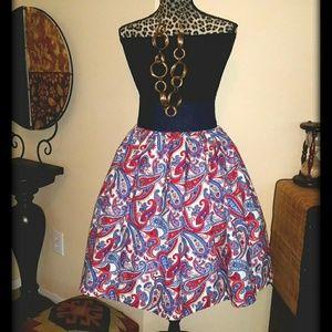 Custom Paisley Skirt